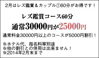 レズ鑑賞60分