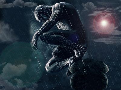 黒スパイダーマン