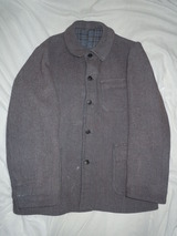 40's FRENCH Vintage 『Tweed Jacket』