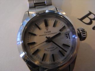 時計ブローチ001