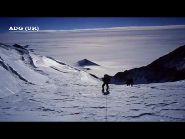 南極のピラミッド②
