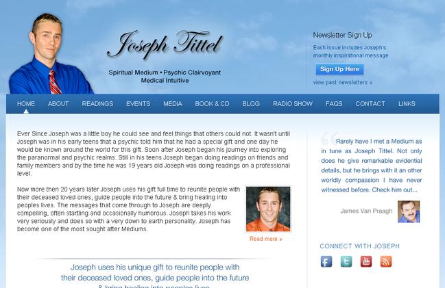 Spiritman Joseph Tittel