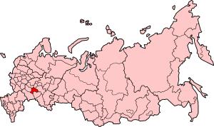 ロシアのウリヤノフスク州
