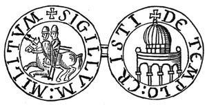 テンプル騎士団の紋章