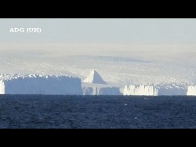 南極のピラミッド①