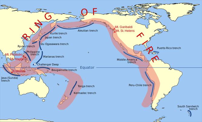 環太平洋火山帯