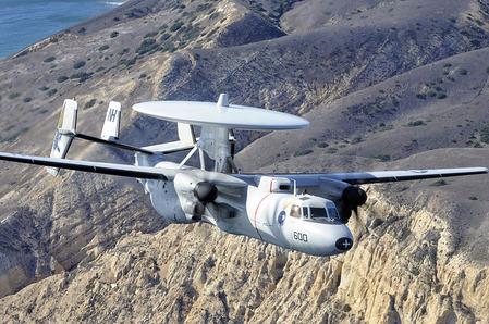 アメリカ海軍のE-2C