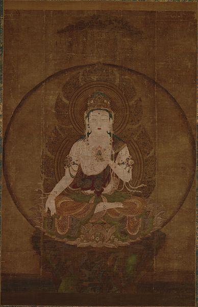 絹本著色虚空蔵菩薩像 東京国立博物館蔵 平安時代後期 国宝