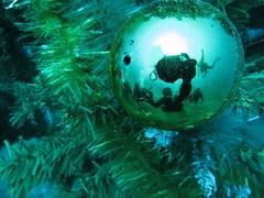 クリスマスの飾りで