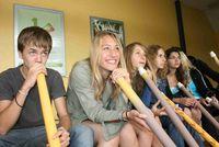 Digeridoo lesson