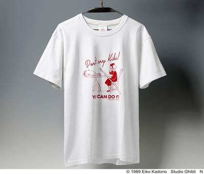 a-魔女の宅急便 Tシャツ 君ならできるよ