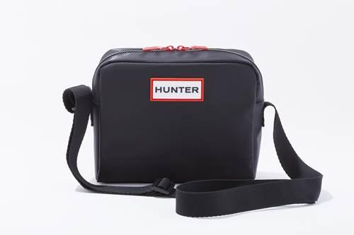 a-HUNTER ショルダーバッグ BLACK