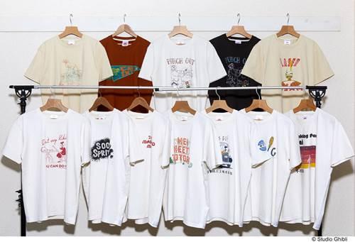 a-ジブリ 2020年SSコレクション Tシャツ