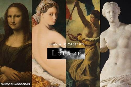 a-LOUVRE x CASETiFYコレクション img01