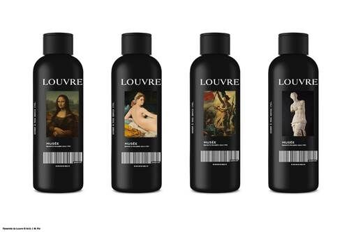 a-Louvre Stainless Steel Water Bottle
