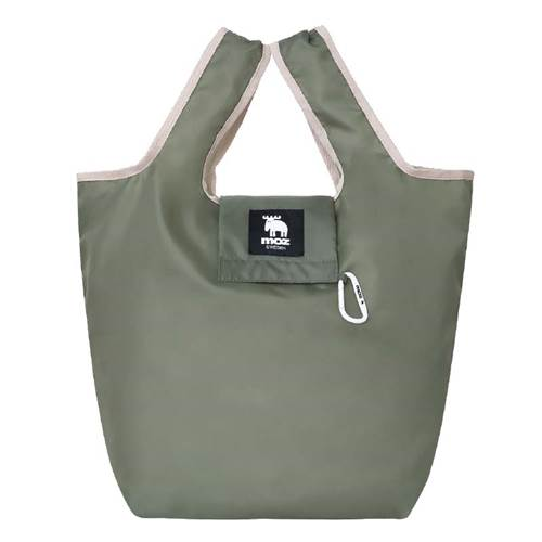 a-moz SHOPPING BAG BOOK OLIVE img01