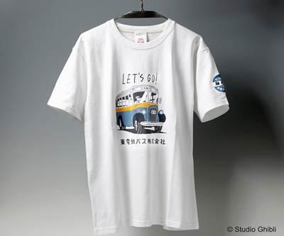 a-となりのトトロ Tシャツ ボンネットバス