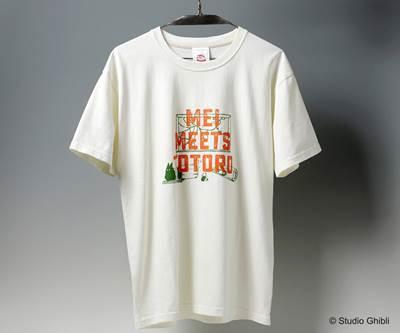a-となりのトトロ Tシャツ 初めての出会い