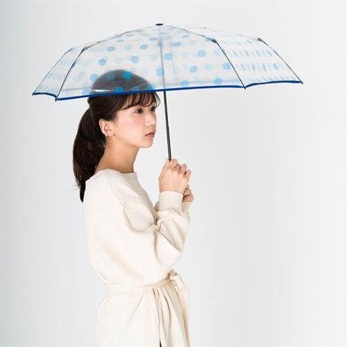 a-エスタ 透明ビニール折りたたみ傘 イメージ