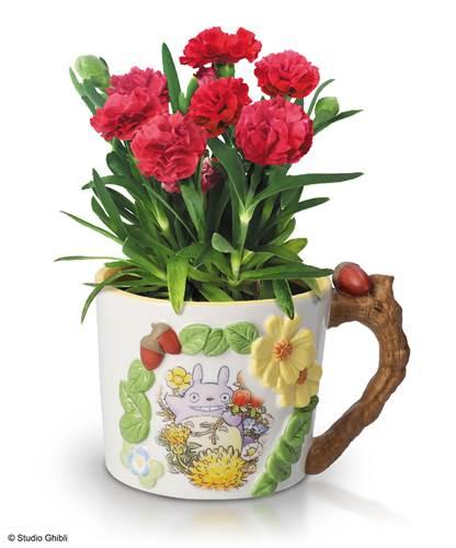 a-トトロとお花のアーチ