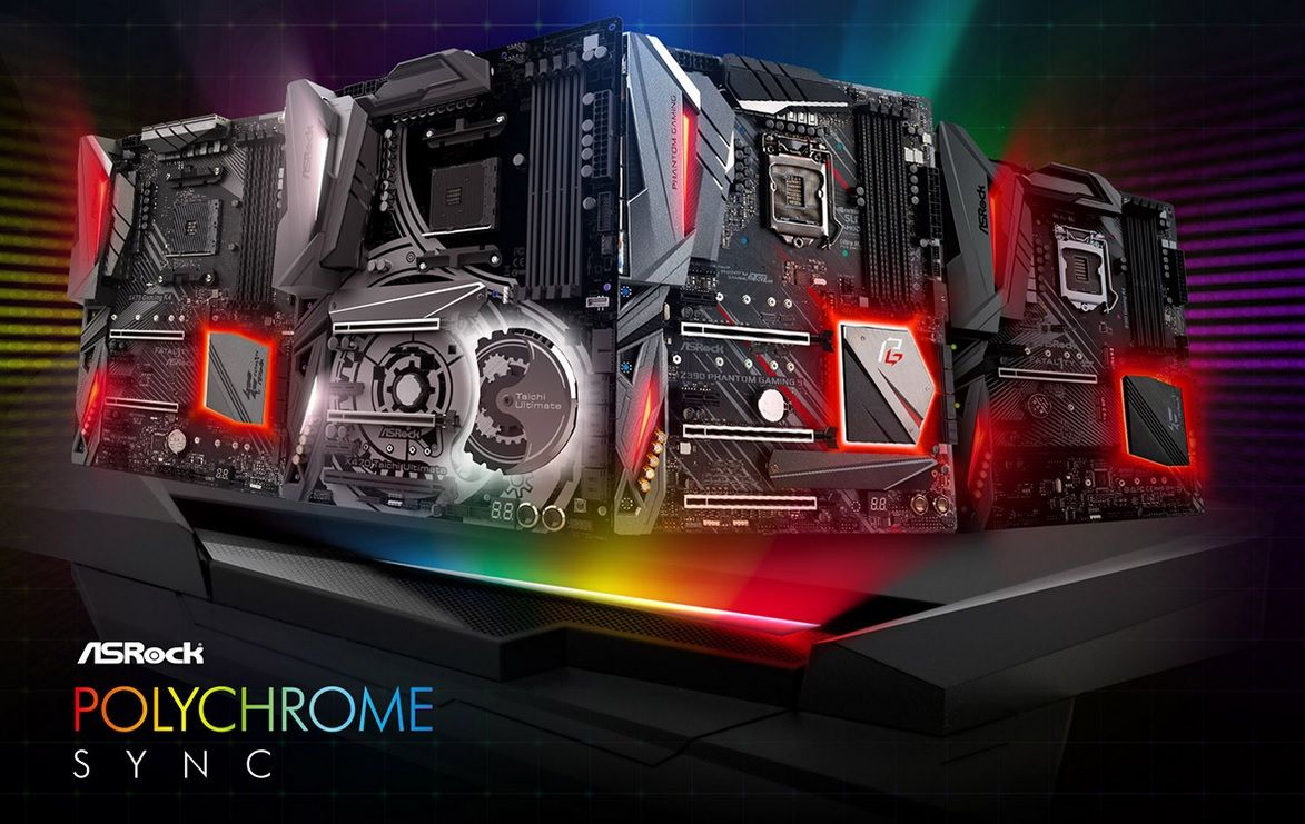 ASRockのRGB LEDユーティリティ「ASRock Polychrome RGB」 : AKIBA