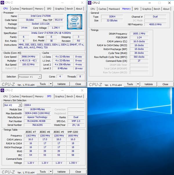 Apacer_ddr4-3200_CPU-Z