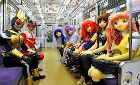 京都市営地下鉄「コスプレ列車」