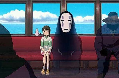 千と千尋の神隠し 電車のシーン