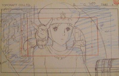 【アニメ】スタジオジブリの作画