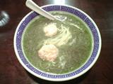六坊 緑茶の鶏白湯