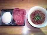 福一 エゾシカの辛味噌つけ麺2