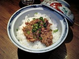 武蔵 肉味噌飯