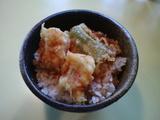八幡屋 ミニ鰻天丼