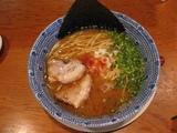 得道 豚そばSTO(魚香油別皿)
