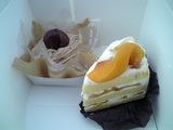 リモール 季節のショートケーキ、モンブラン