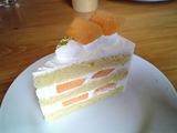 オークウッドカフェ メロンのショートケーキ