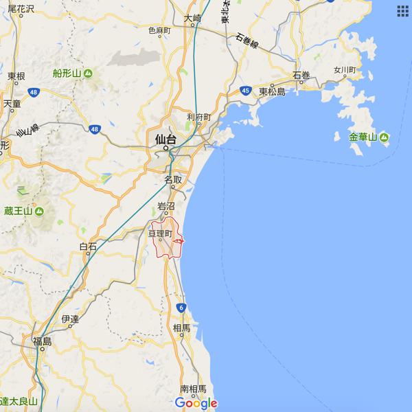 亘理町地図