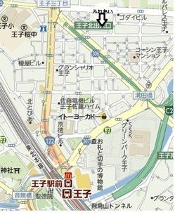 ふれあい館地図
