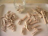 木の洗たくピン*
