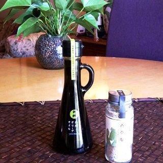 レストランミケイラの香草塩と檸檬オリーブオイル