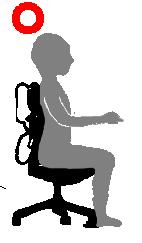 正しい座り方