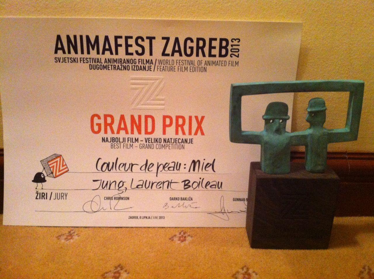 『はちみつ色のユン』、ザグレブ2013でグランプリ&観客賞受賞