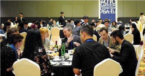 韓国でASIA-EU Cartoon Connection、日韓伊でCOMIKS開催