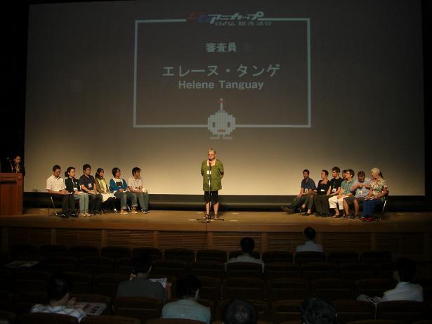 京都でCGアニメカップに参加しました
