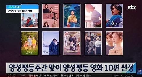 WAT 女性監督ドキュメンタリー・アニメーション興行終了、韓国ジェンダー差別のない優秀10作品選定