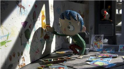 新宿アート・コンペティション、花コリ東京会場、スイス/フランスの新作コマドリアニメーション映画