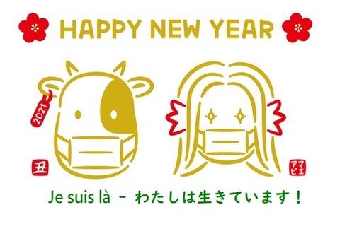 新年おめでとうございます!2021年も健やかにお過ごしください!