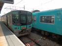 粟生駅の写真1