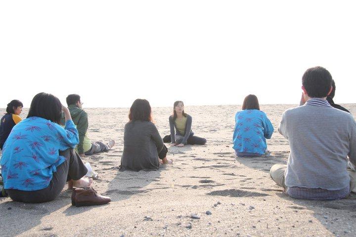 海岸ヨガ教室
