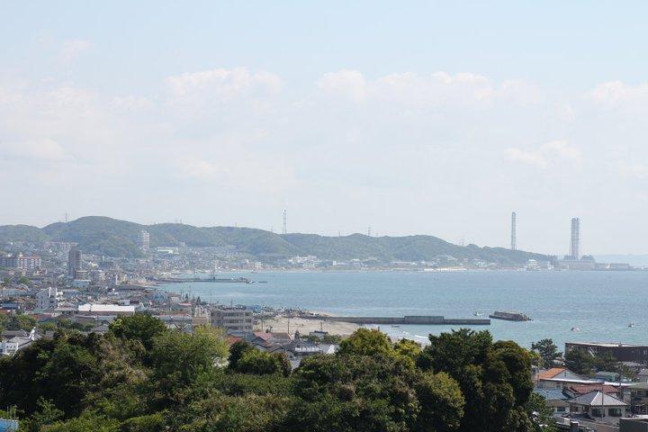 三浦海岸全景